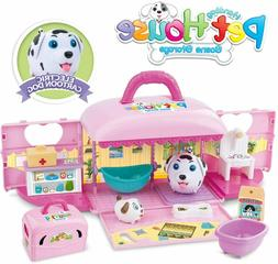 REMOKING STEM Pretend Pet Toy Play Kit, Funny Portable Handb