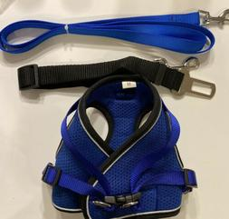 Seny Step In Dog Harness and Leash for Medium Dogs Pet Puppy