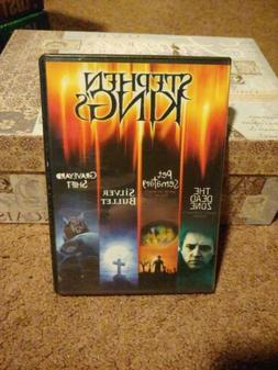 Stephen King DVD Set The Dead Zone Pet Sematary Silver Bulle