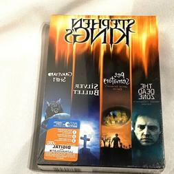 STEPHEN KINGS dvd set dead zone pet sematary silver bullet g