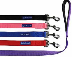 strong durable dog leash lead padded handle