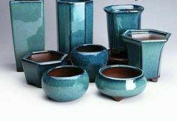 Succulent Flower Pot Ceramic Glazed Plants Vase Planters Hom