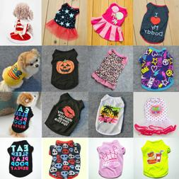 Summer Spring Various Pet Puppy Small Dog Cat Pet Clothes Ve