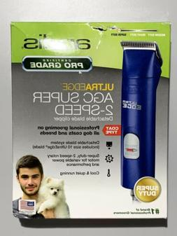 Andis Super Duty AGC 2-Speed CLIPPER&10 ULTRAEDGE BLADE Pet