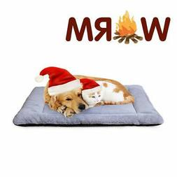 PETSGO Super Soft Crate Mats(1 in High Dog and Cat Beds for