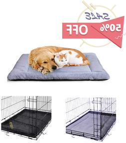 PETSGO Super Soft Crate Mats(1 in High Dog  Cat Beds for Cra