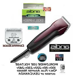 Andis SuperDuty 5-Speed Excel CLIPPER&CERAMICEDGE 10 BLADE-P