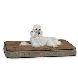K&H Manufacturing Superior Orthopedic Bed Large Mocha Paw Bo