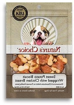 Natural Value Sweet Potato Biscuit Wrapped with Chicken Brea