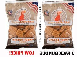 Natural Value Sweet Potato Krisps All Natural Dog Treats Mad
