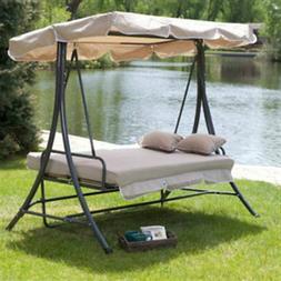 Swing Canopy Patio Outdoor Hammock Furniture Porch Person 3