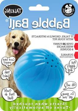 Pet Qwerks Talking Babble Ball Interactive Dog Toy, Wisecrac