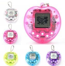 Tamagotchi Heart 168 Pet Game Keychain Toy Playable Random C