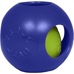 "Jolly Pets Teaser Ball Dog Toy Blue 4 1/2"""