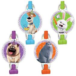 THE SECRET LIFE OF PETS 2 BLOWOUTS  ~ Birthday Party Supplie