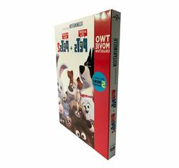 The Secret Life of Pets 1-2 Include 2 DVD Films One Two Funn