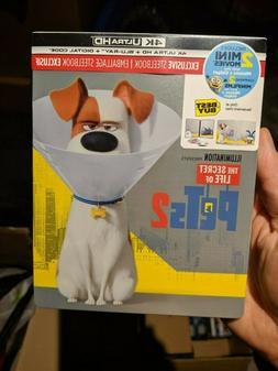 The Secret Life of Pets 2 - Best Buy Steelbook  BRAND NEW!!