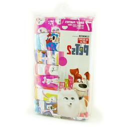 The Secret Life of Pets 2 Girls' Panties 7 Pack 100% Combed