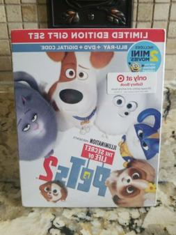 The Secret Life Of Pets 2 Limited Edition Gift Set Blu-ray,D