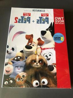 The Secret Life of Pets 2-Movie Collection DVD BUNDLE