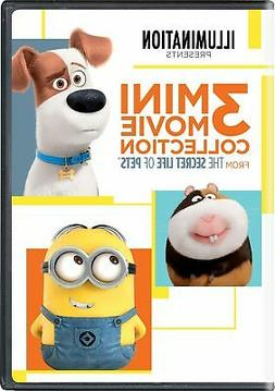 The Secret Life Of Pets: 3 Mini-Movie Collection  With Movie