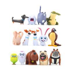 The Secret Life of Pets Duke 10PCS Action Figure Kids Toy Gi