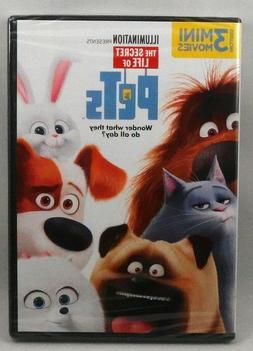 The Secret Life of Pets DVD Louis C.K. NEW