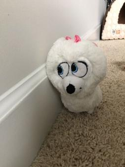 "The Secret Life of Pets GIDGET WHITE DOG 6"" Plush STUFFED AN"