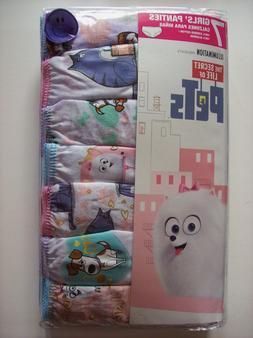 The Secret Life of Pets Underwear Underpants Girls 7 Panty P