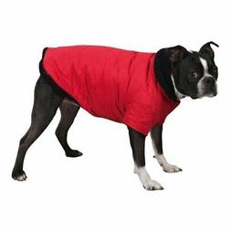 Zack & Zoey Thermal Lined Quilted Dog Pet Jacket Coat RED NE