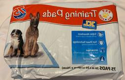 Pet All Star Training Pads XL 45 Of 75 Count Package Slit Op