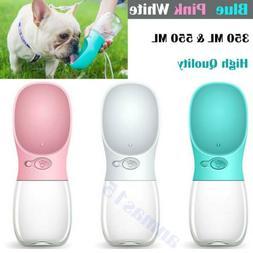 travel pet water bottle dispenser dog cat