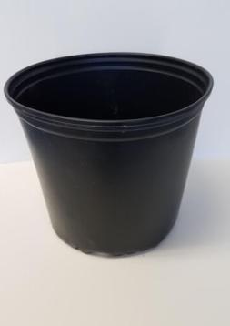 TRUE 3 GALLON NURSERY black PLASTIC POTS {set of 5} flower