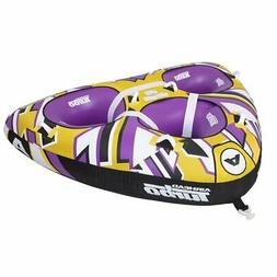 "Airhead Turbo Blast 3 Person 81"" x 107"" Inflatable Boat Towa"