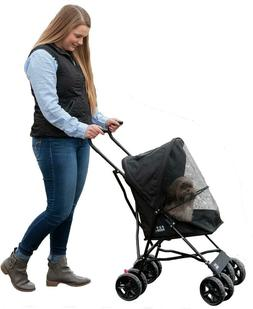 Pet Gear Ultra Lite Travel Stroller, Compact, Large Wheels,