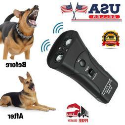 Ultrasonic Anti Bark Control Stop Barking Away Pet Dog Train