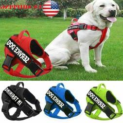 US Pets Dog Harness Strap Pet Vest Collar Reflective Walking