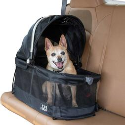 Pet Gear VIEW 360 Small Pet Dog Cat Carrier & Car Seat in Bl