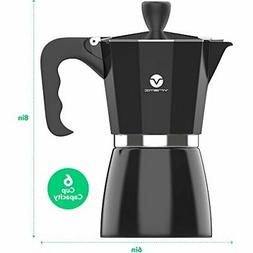 Yabano Stovetop Espresso Maker - Moka Pot Coffee Maker for G