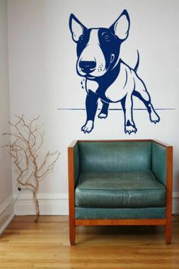Wall Art Vinyl Sticker Decal Mural Room Design Dog Puppy Bul