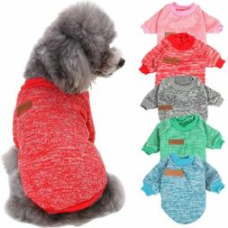 Warm Clothes for Pet SWEATER Chihuahua Yorkie Small Dog Coat