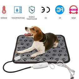 Waterproof Pet Electric Heating Mat Cushion Heated Pad Bed P