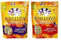 Wellness WellBites Soft & Chewy Treats For Good Dogs 2 Flavo