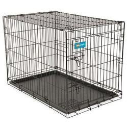 "Aspen Pet Wire Home Training Dog Kennel, 43""W x 28""D x 31""H"