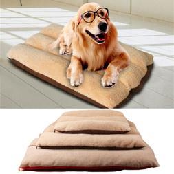 XXL Washable Large Dog Bed Pet Cushion Mattress Soft Crate M