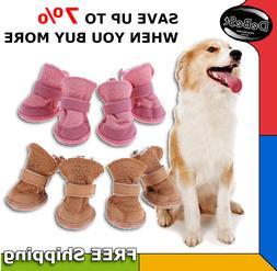 Zapatos de Invierno para Perros 4Pcs Winter Shoes Dogs Thick